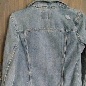 Jackets & Coats - Old navy Distressed Denim Jacket